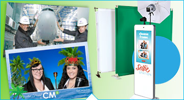 Selfie Station with Green Screen