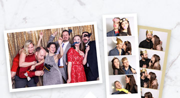 Selfie Station photo strips and prints